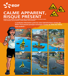 affiche edf prevention sante